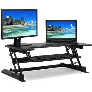 Best Choice Height-Adjustable Standing Tabletop Desk