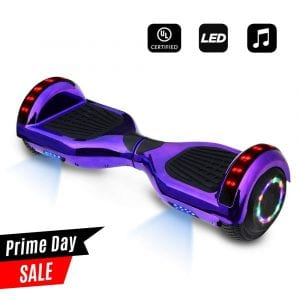 CHO 6.5 inch Wheels Electric Smart Self Balancing Scooter