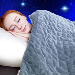 Dr. Hart's Weighted Blanket to Improve Sleep & for Anxiety Relief