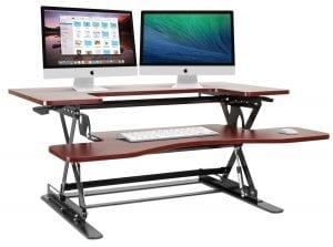 Halter ED-258 Preassembled Height Adjustable Desk