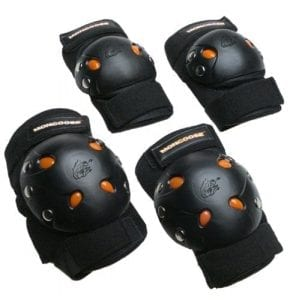 Mongoose BMX Bie Gel Set of knee pads