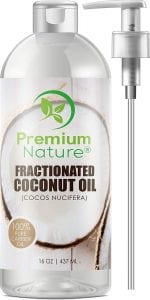 Premium Nature Fractionated Coconut Oil Massage Oils