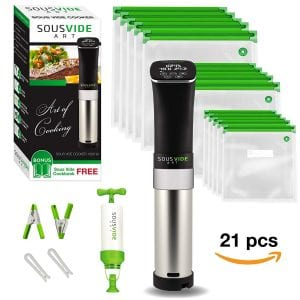 Sous Vide Immersion Circulator Cooker