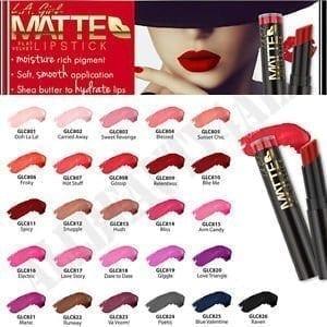 LA GIRL Matte Flat Velvet 26PCS Lipstick