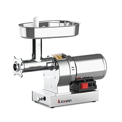 KITCHENER #8 Heavy Duty Commercial Grade Electric Meat Grinder