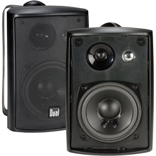 Dual Electronics LU43PB 4 inch Bookshelf Studio Monitor Speakers