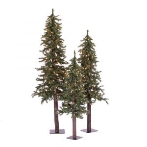 Vickerman A805180 - Natural Alpine Christmas Trees