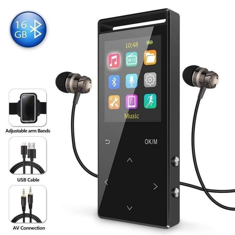Grtdhx 16GB Bluetooth MP3 Player