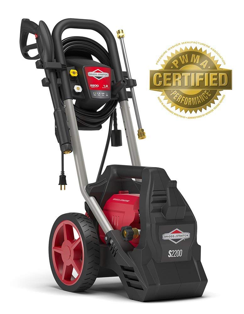 Briggs & Stratton Electric Pressure Washer 2200psi 1.2 GPM