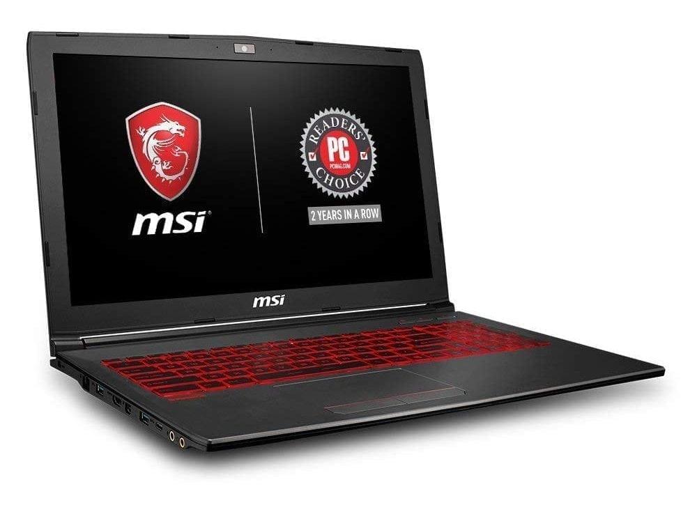 MSI GV62 8RD-200 15.6 INCH Full HD performance gaming laptop