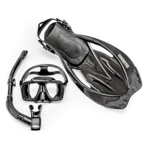 Innovative Scuba Concepts MSF4611 REEF Snorkel Set