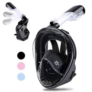 Greatever 2018 Newest Version Snorkel Mask