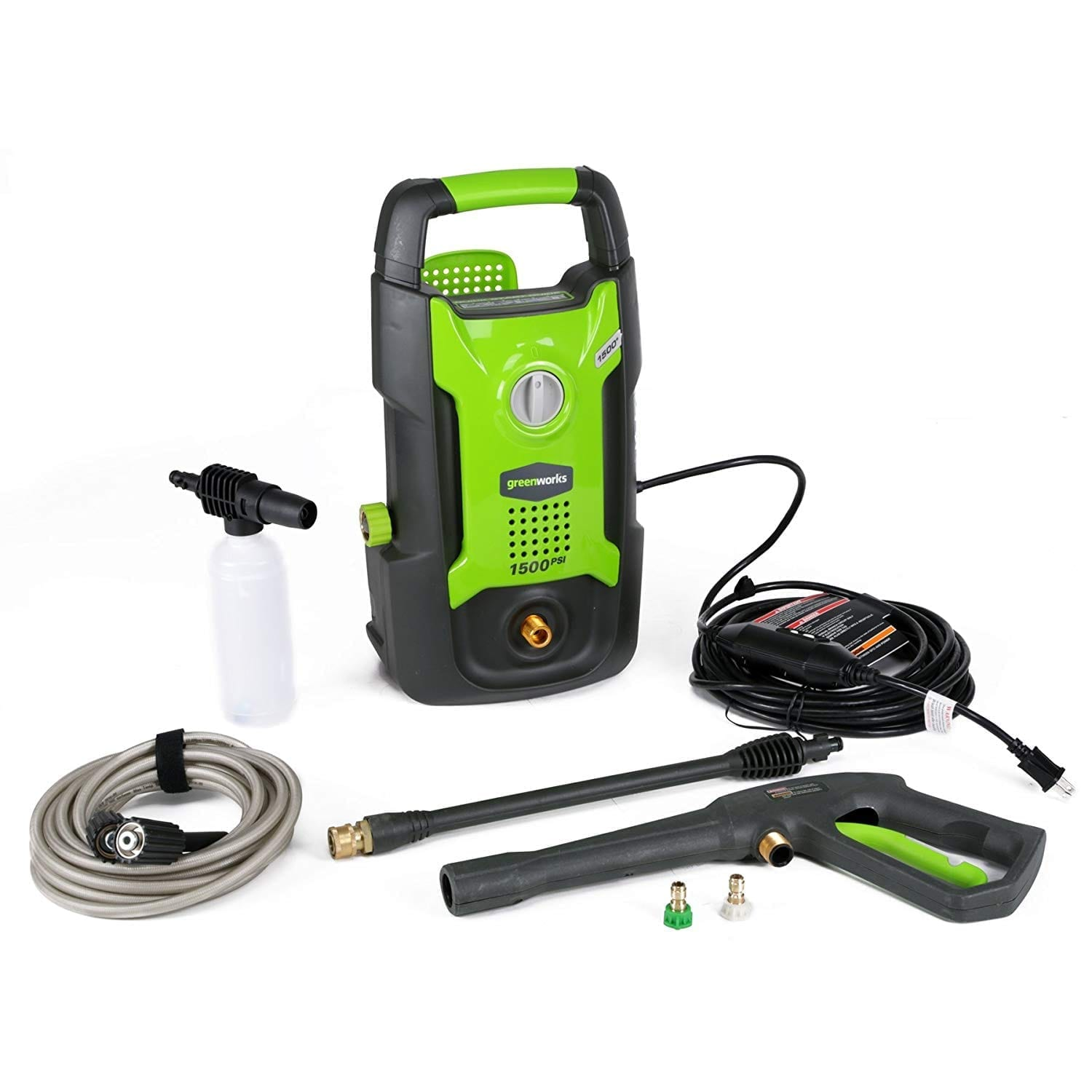 Greenworks 1500 PSI 13 AMP 1.2 GPM Pressure Washer GPW 1501