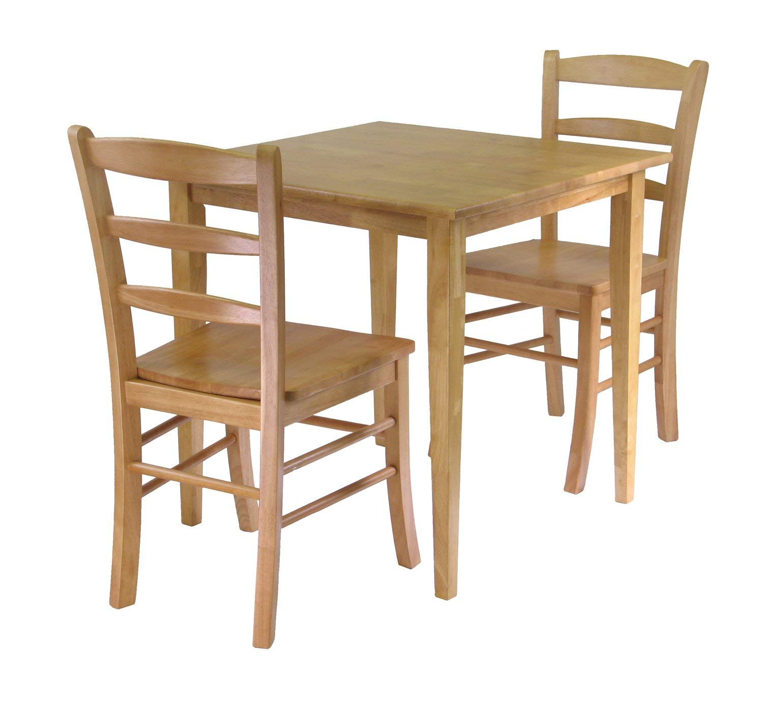 Winsome Groveland 3-Piece Wood Dining Set, Light Oak Finish