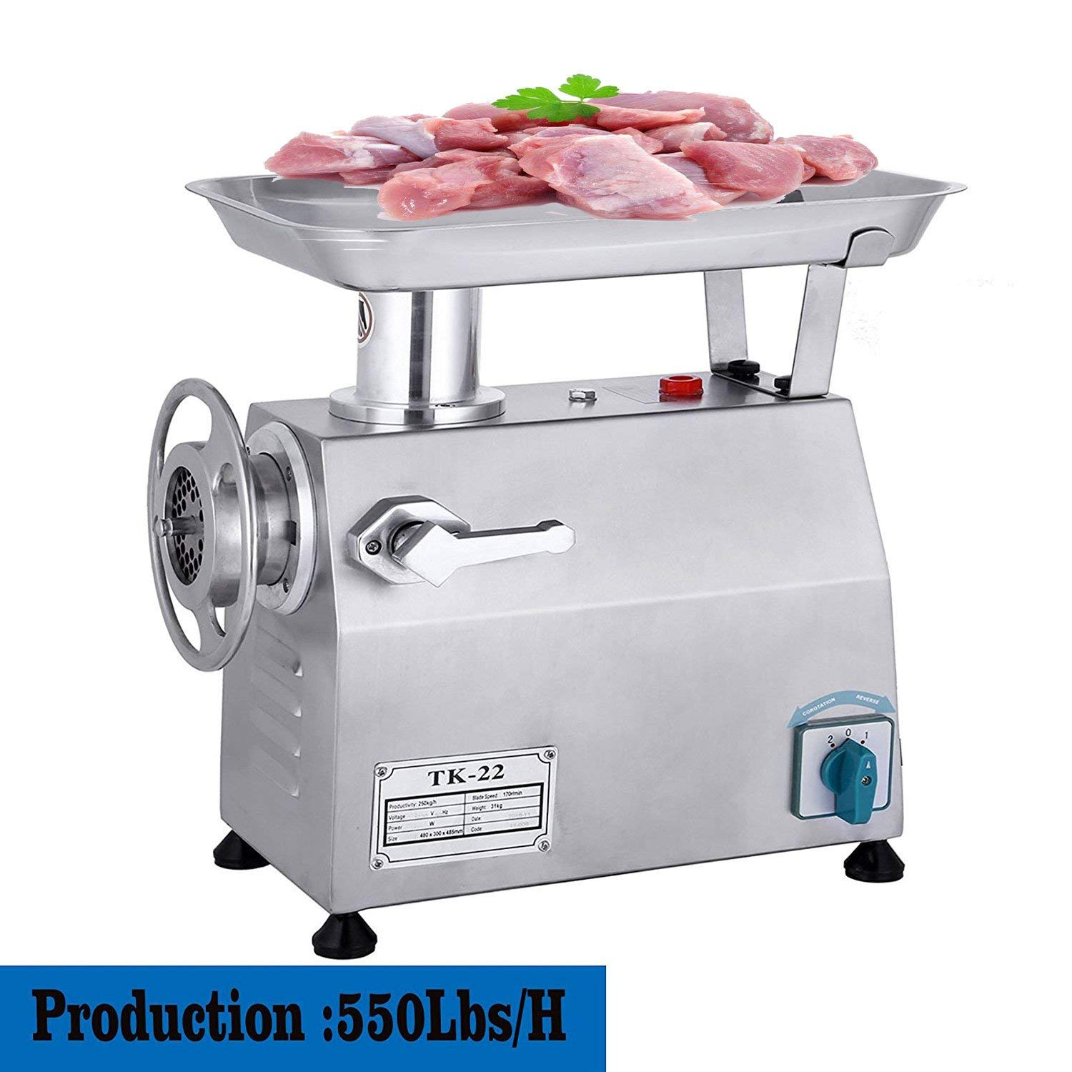Happybuy 1.13HP Meat Grinder