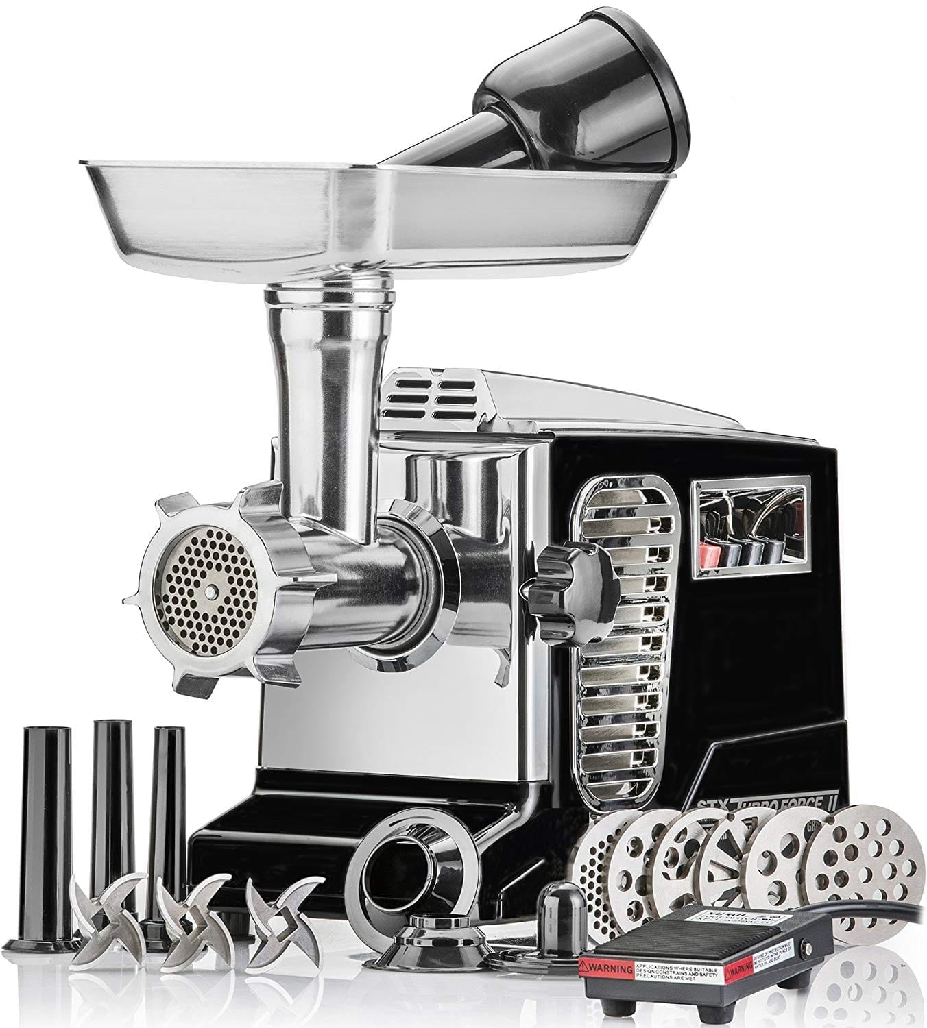 STX INTERNATIONAL STX-4000-TB2-PD Electric Meat Grinder
