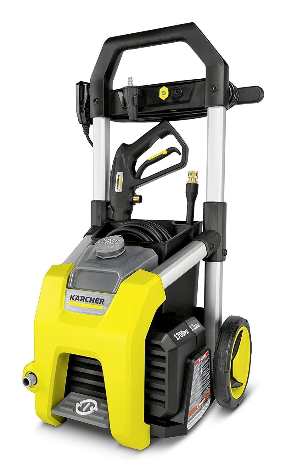 Karcher K1700 Electric Pressure Washer, 1700psi TruPressure