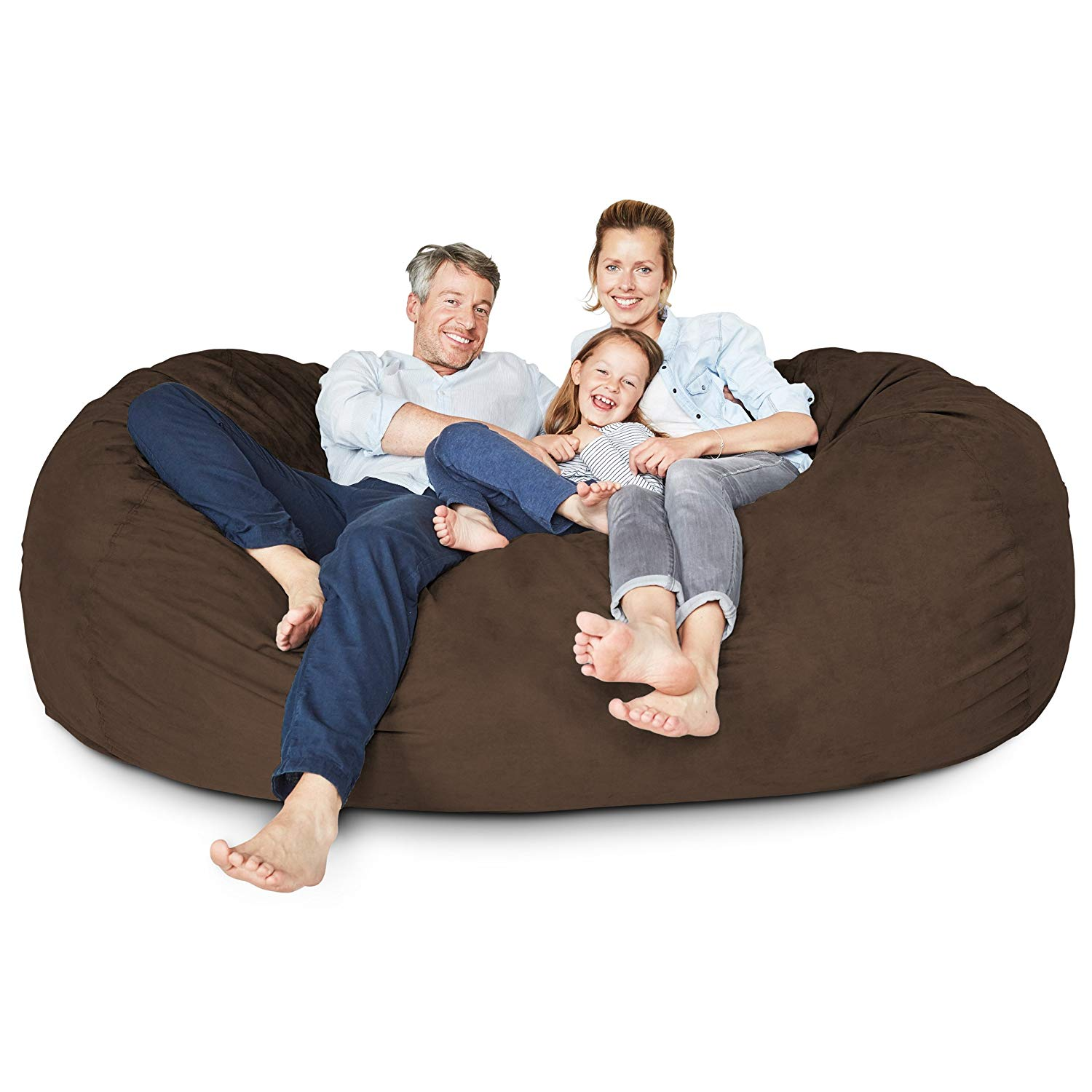 Lumaland Luxury 7 Foot Bean Bag