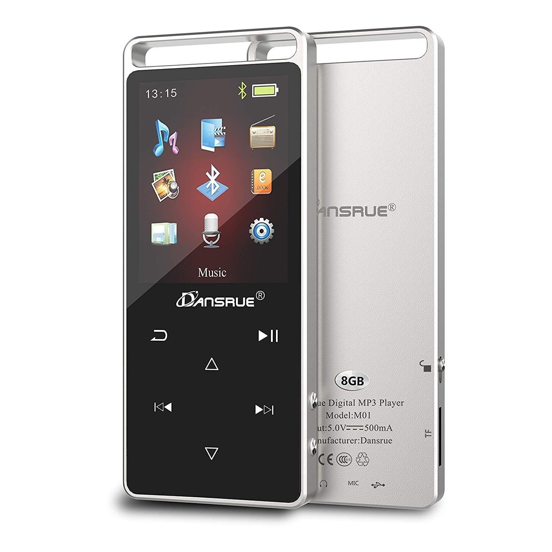 Dansrue MP3 Music Player with Bluetooth 4.0 (2018-model)