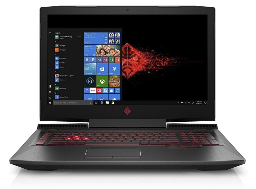OMEN HP 17 inch gaming laptop