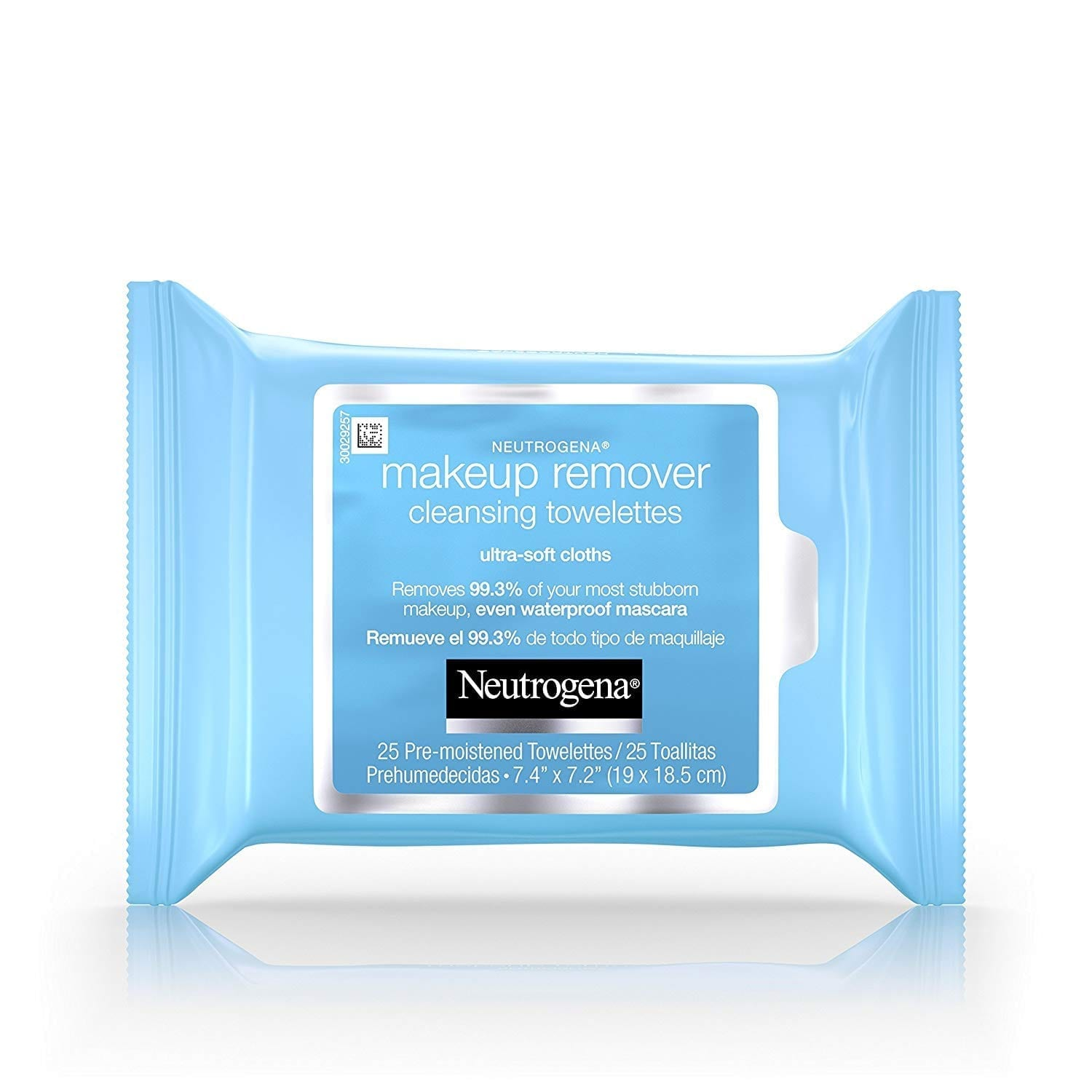 Neutrogena Makeup Remover Cleansing Towelettes Makeup & Waterproof Mascara, 25 ct (Pack of 6)