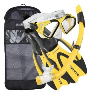 U.S. Divers Conzumel Snorkeling Set