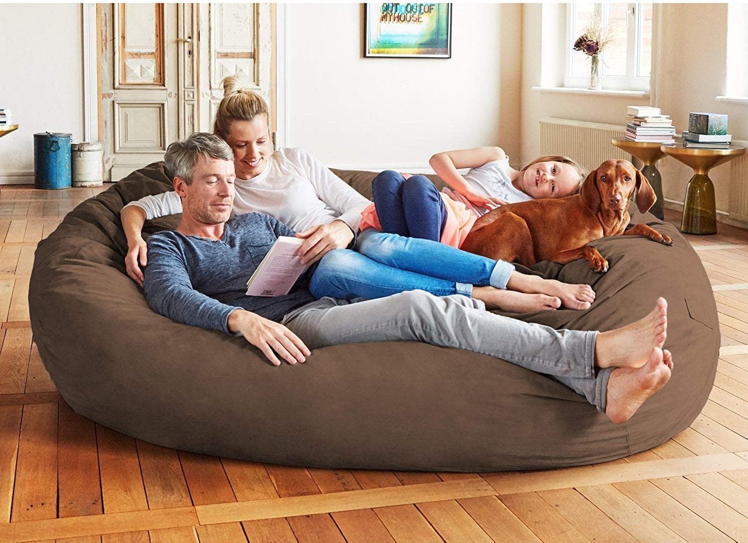 Best Large Bean Bag Chairs for Adults in 2020 - Trendy Brands