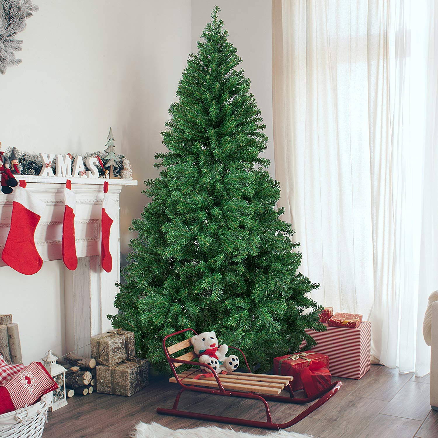 Best Choice Products 6' Premium Hinged Artificial Christmas tree