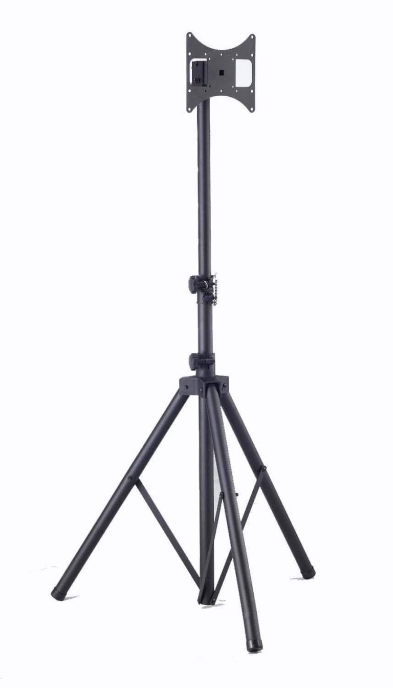 Elitech Steel Portable LCD or Plasma TV Tripod Stand