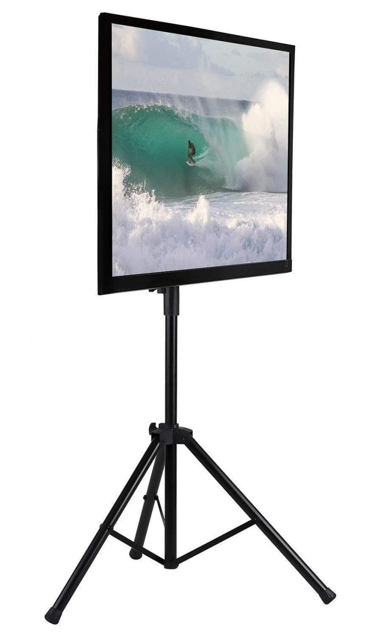 Mount-It! LCD Flat Panel Tripod Portable TV Stand
