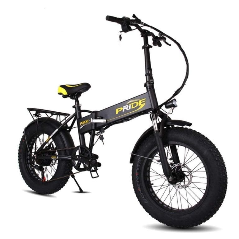 DAYU E-Bike Folding Fat Tire Electric Mountain Bike