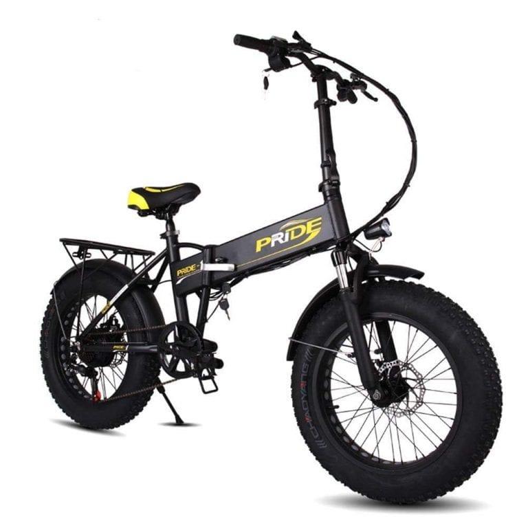 DAYU E-Bike Folding Fat Tire Electric Mountain Bike