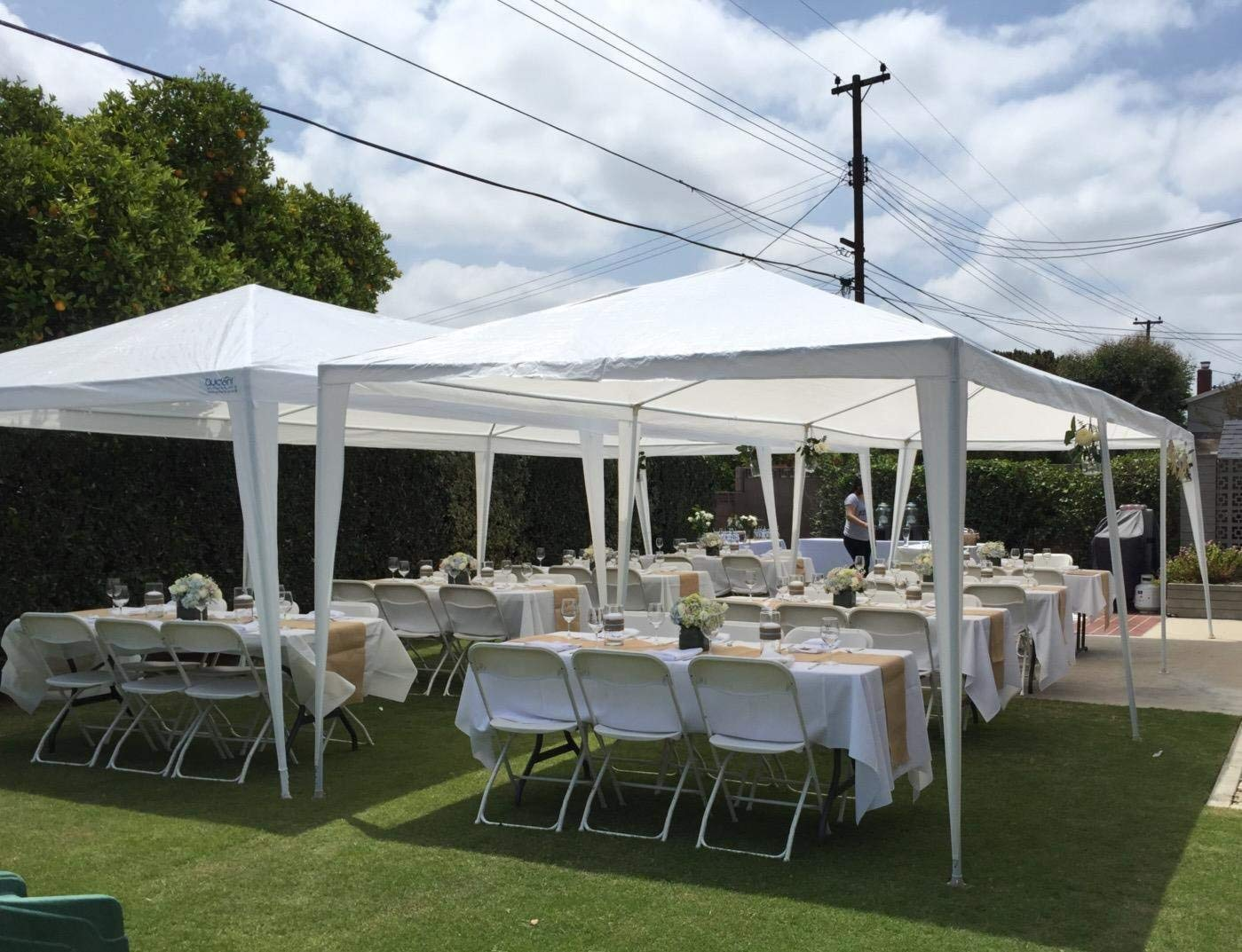 Peaktop 10 x 30 inches Heavy duty Outdoor Party Wedding Tent