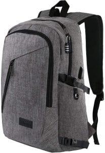 Mancro Laptop Backpack, Travel Computer Bag