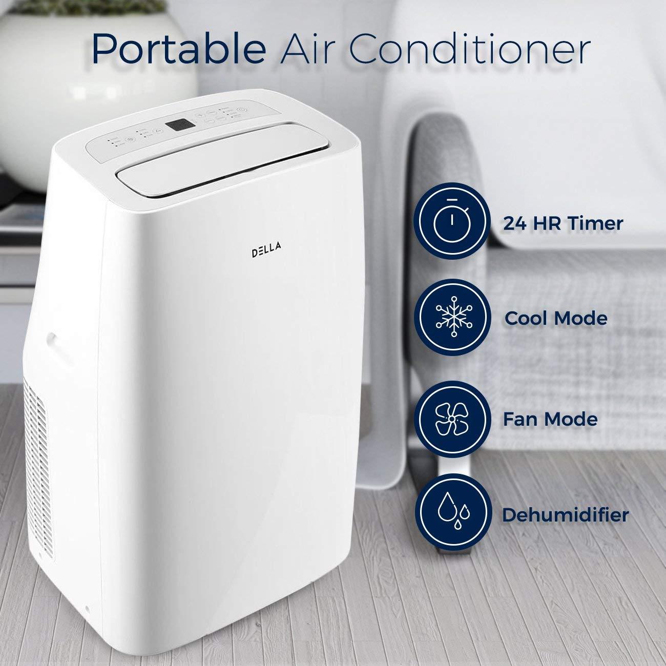 DELLA 10,000 BTU Air Conditioner