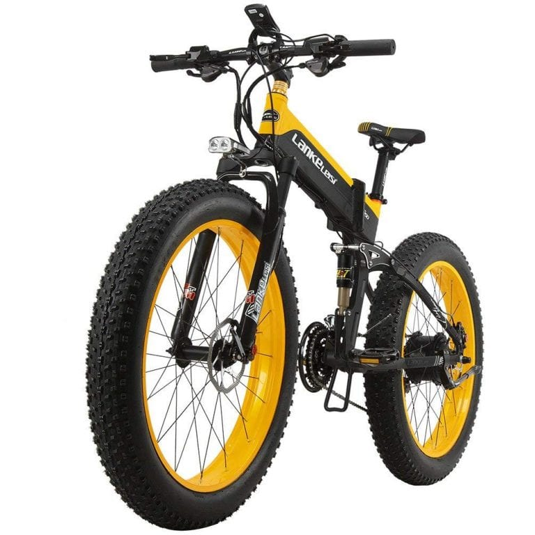 LANKELEISI XT750PLUS1000 Electric Bicycle