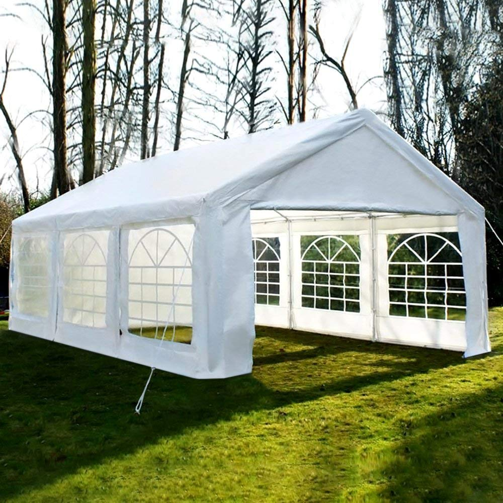 Quictent 20ft x 20ft heavy duty outdoor gazebo party wedding tent