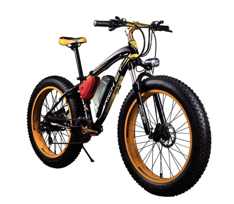 RICH BIT TP012 Electric Fat Bike Mountain Bicycle