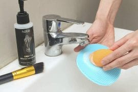 Makeup Cleaning Brush Shampoos
