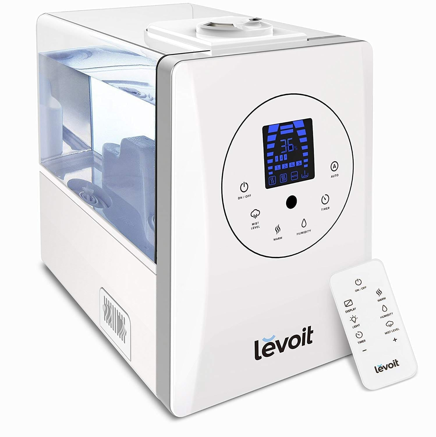 Levoit Humidifiers, Warm and Cool Mist Ultrasonic Humidifier