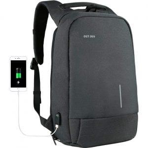 OUTJOY Men 15.6 inch Laptop Backpack