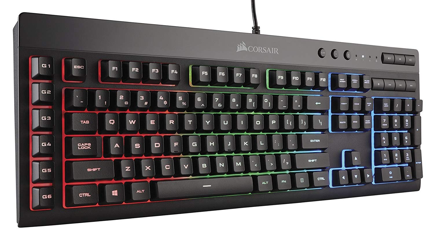 Corsair K55 RGB gaming keyboard