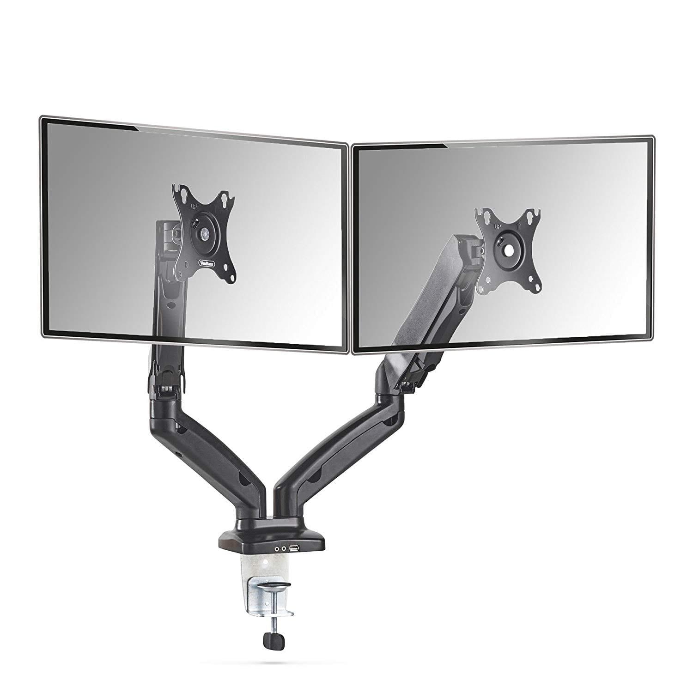VonHaus Premium Dual Monitor Desk Mount Stand
