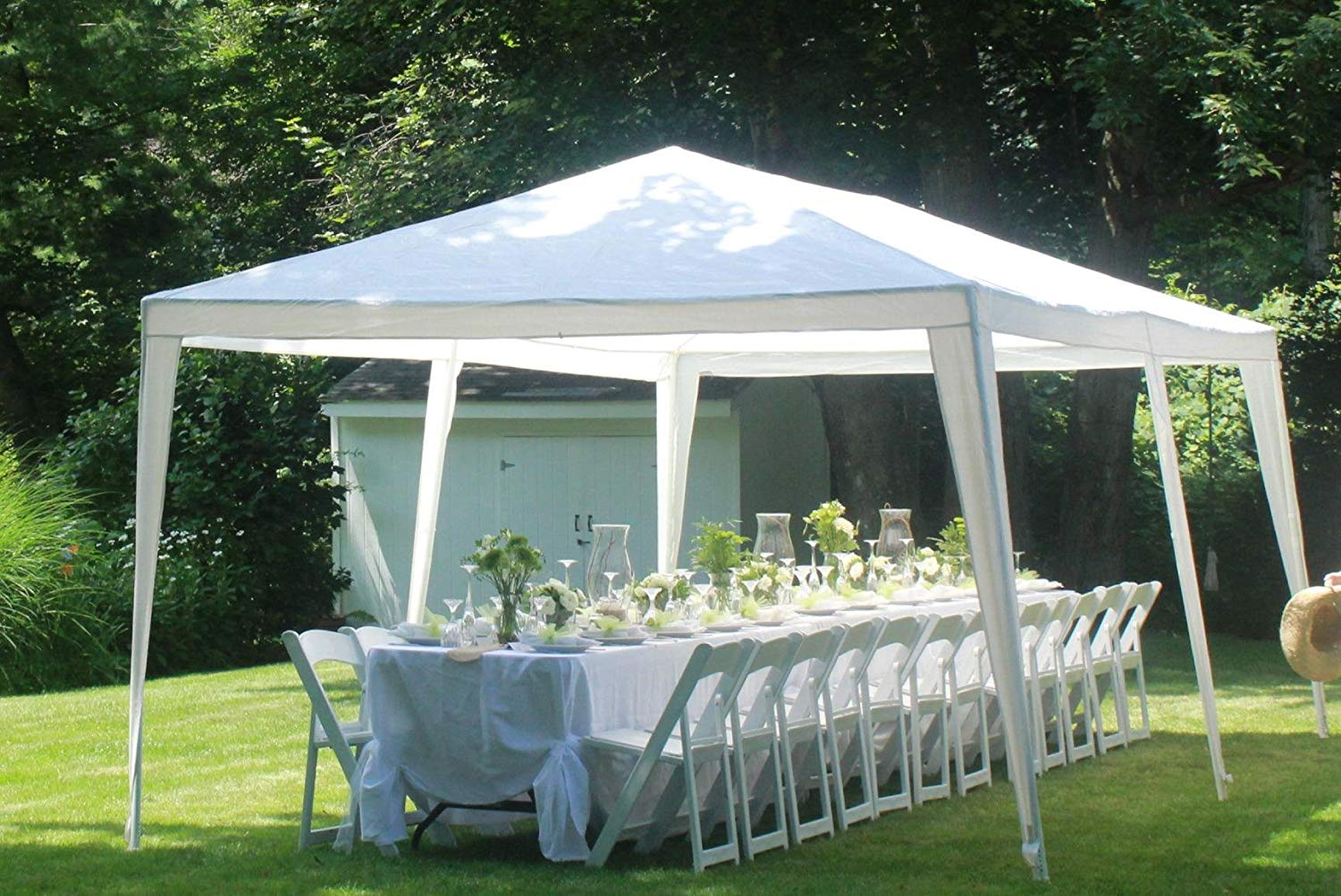 Quictent 10ft x 20ft Party Tent Gazebo Wedding Canopy BBQ Shelter Pavilion