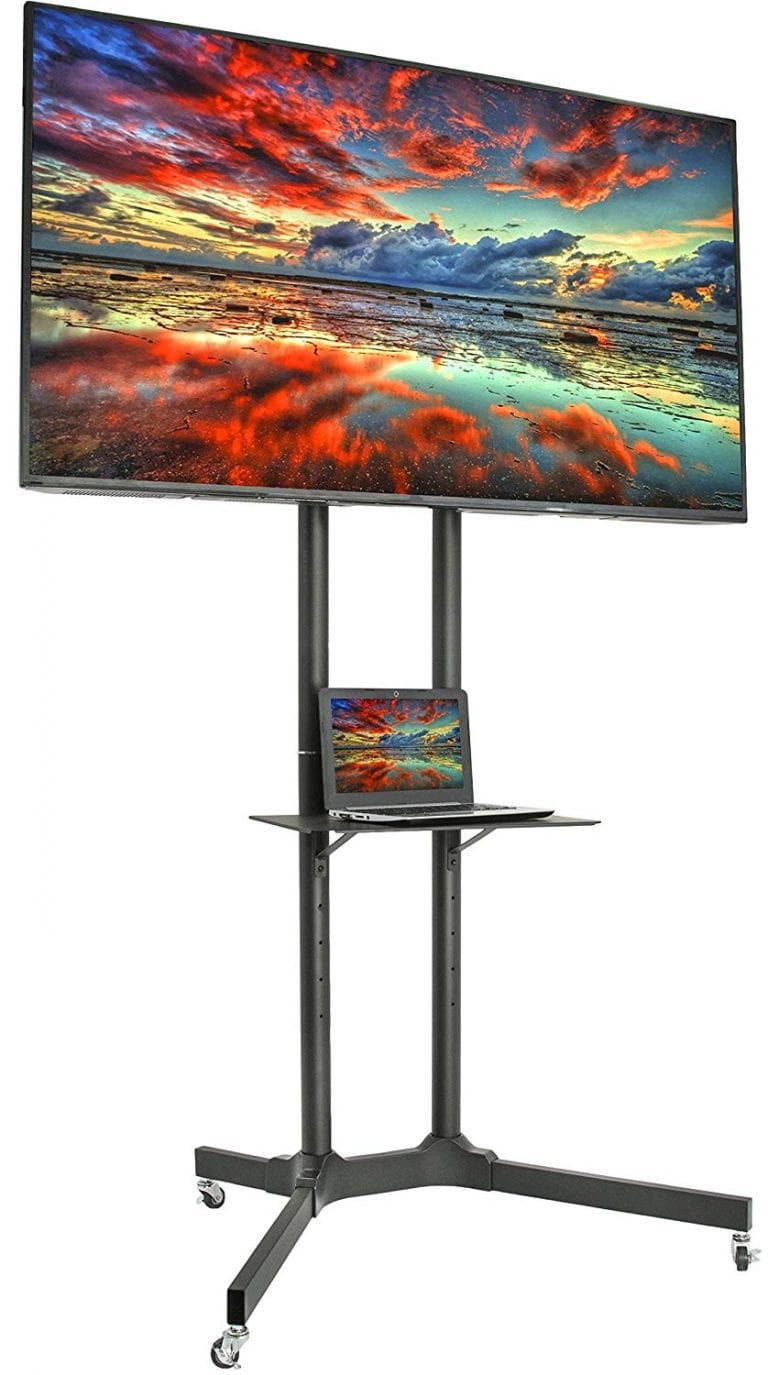 VIVO Mobile TV Cart- (STAND-TV03E)