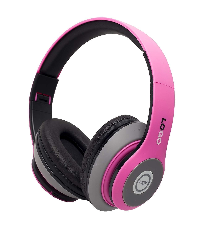 iJoy Matte Finish Premium Rechargeable headphones