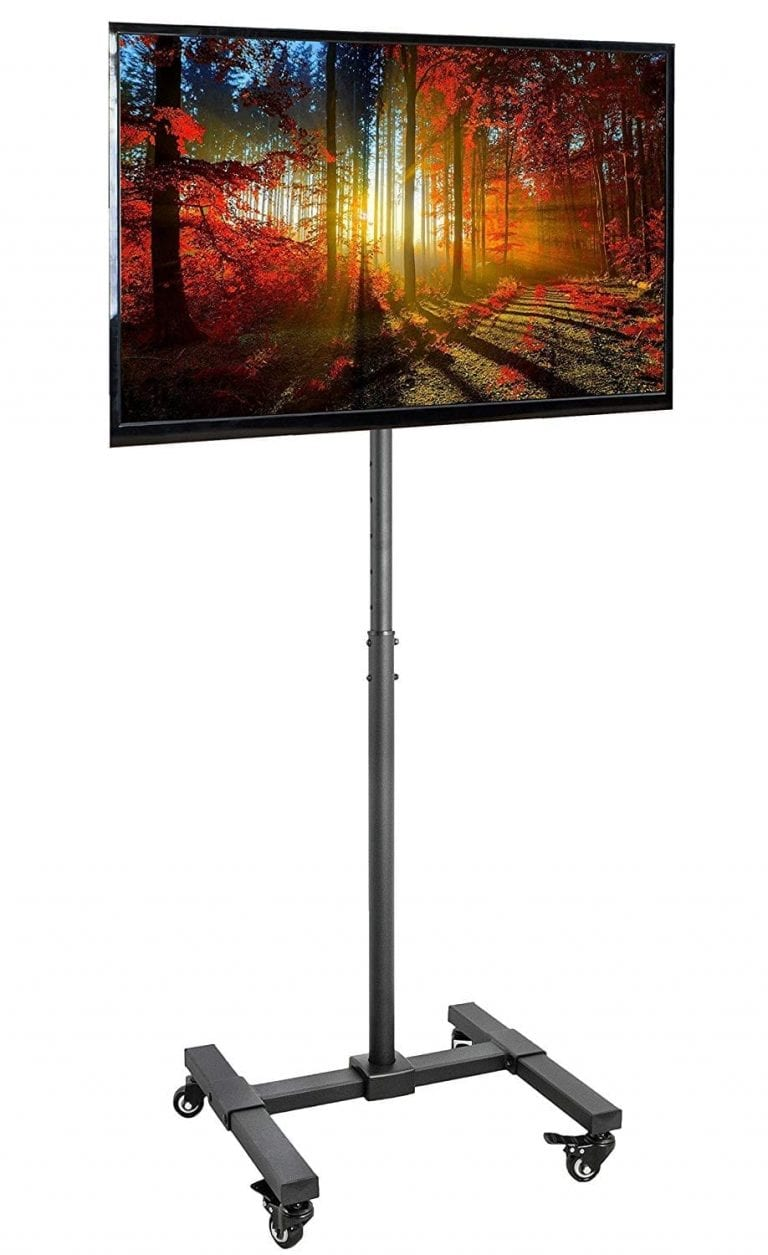 VIVO Mobile TV Display Floor Stand