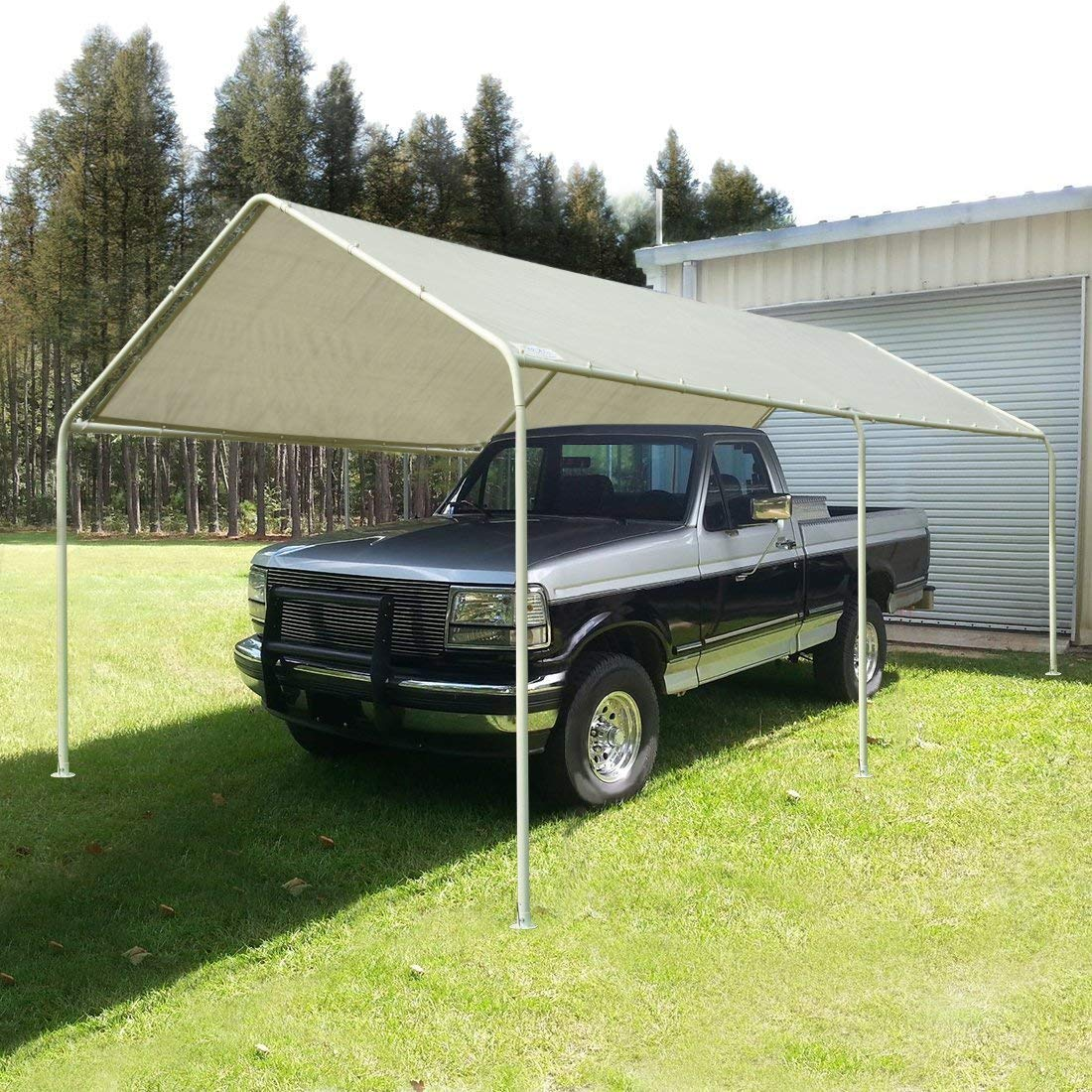 Quictent 20ft x 10ft heavy duty Carport Canopy Party Wedding Tent