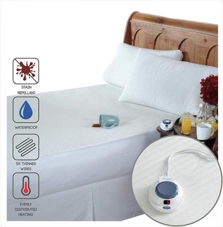Perfect Fit Soft Heat Smart Electric Mattress Pad