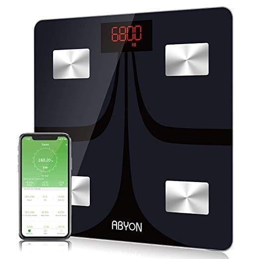 ABYON Bluetooth Scales Digital Body Fat Scale